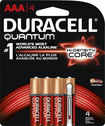Duracell - Quantum AAA Batteries (4-Pack) - Red