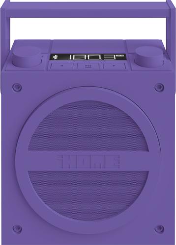 iHome - Wireless Boombox with FM Radio - Purple