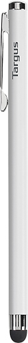 Targus - Slim Stylus for Most Capacitive Touch-Screen Devices - White