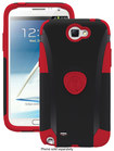 Trident - Aegis Case for Samsung Galaxy Note II Cell Phones - Red