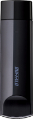 Buffalo Technology - AirStation N450 Wireless-N USB 2.0 Adapter - Black