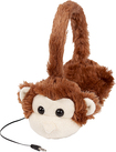 ReTrak - Animalz Monkey Over-the-Ear Headphones - Brown