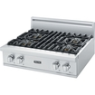 "Viking - Professional 5 Series 30"" Gas Cooktop - Stainless Steel"