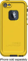 LifeProof - Case for Apple® iPhone® 5 and 5s - Yellow