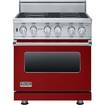 "Viking Professional - 30""w. Vesc Electric Range - Apple Red"