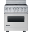 "Viking Professional - 30""w. Visc Electric Induction Range - Stainless Steel"