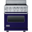 "Viking Professional - 30""w. Visc Electric Induction Range - Cobalt Blue"