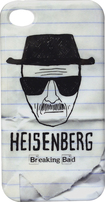 Tribeca - Breaking Bad Heisenberg Sketch Hard Shell Case for Apple® iPhone® 4 and 4S - White