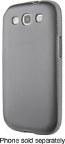 Belkin - Grip Candy Case for Samsung Galaxy S III Cell Phones - Gray/Light Gray