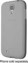 Belkin - Grip Candy Case for Samsung Galaxy S 4 Cell Phones - Clear/Gray