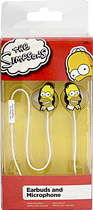 Tribeca - The Simpsons Homer Head Earbud Headphones - Yellow