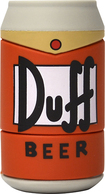 Tribeca - Duff Beer Can 8GB USB 2.0 Flash Drive - Orange