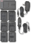 Digipower - Dual Battery Charger - Gray