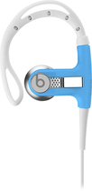 Beats by Dr. Dre - Powerbeats by Dr. Dre Clip-On Earbud Headphones - Neon Blue