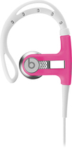 Beats by Dr. Dre - Powerbeats by Dr. Dre Clip-On Earbud Headphones - Neon Pink