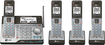 AT&T - Connect to Cell DECT 6.0 Expandable Phone System with Digital Answering System - Black/Gray