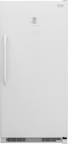Frigidaire - 16.9 Cu. Ft. Frost-Free Upright Freezer - White