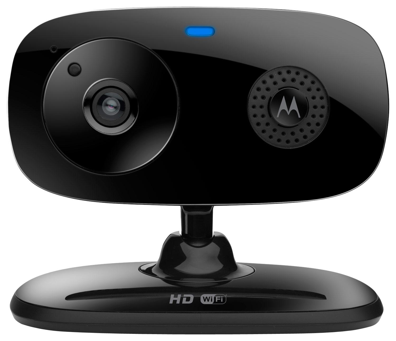Motorola - Wireless Home Video Monitor - Black