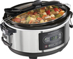 Hamilton Beach - Stay or Go 5-Quart Programmable Slow Cooker - Silver