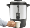 Hamilton Beach - 40-Cup Dispensing Coffee Urn - Stainless-Steel