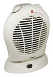 Impress - Portable Oscillating Fan Heater - White