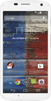 Motorola - Moto X (2nd Generation) 4G LTE Cell Phone - Bamboo White (Verizon Wireless)
