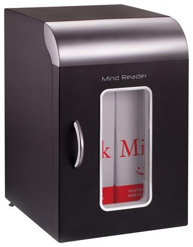 Mind Reader - Mini Refrigerator - Black/Silver