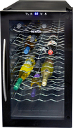 NewAir - 28-Bottle Wine Cooler - Black