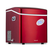 "NewAir - 17"" 50-Lb. Freestanding Icemaker - Red"