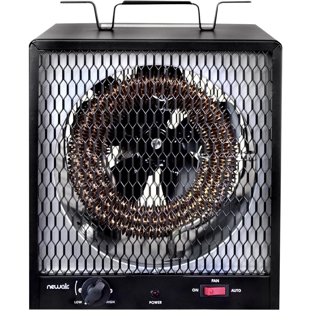 NewAir - Portable Garage Heater - Black