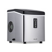 "NewAir - 12"" 28-Lb. Freestanding Icemaker - Stainless-Steel"