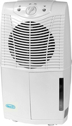 NewAir - 25-Pint Portable Dehumidifier - White