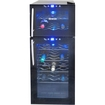 NewAir - 21-Bottle Wine Cooler - Black