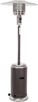 Fire Sense - Standard Series Patio Heater - Mocha/Stainless-Steel