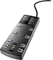 Dynex™ - 8-Outlet 2-USB-Port Surge Protector