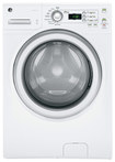GE - 3.6 Cu. Ft. 9-Cycle High-Efficiency Front-Loading Washer - White