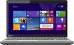 "Toshiba - Satellite 15.6"" Touch-Screen Laptop - Intel Core i5 - 8GB Memory - 750GB Hard Drive - Prestige Silver"
