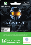 Microsoft - Xbox Live 12+1 Month Gold Membership - Halo: Master Chief Collection - Black