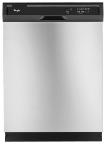 Whirlpool - 24 Built-In Dishwasher - Universal Silver
