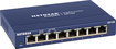 NETGEAR - ProSAFE 8-Port 10/100/1000 Gigabit Switch - Blue
