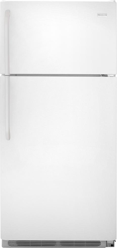 Frigidaire - 18.0 Cu. Ft. Top-Freezer Refrigerator - White