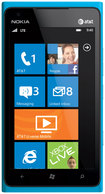 Nokia - Lumia 900 Cell Phone (Unlocked) - Blue