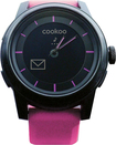 COOKOO - Bluetooth Watch for Apple® iPad®, iPhone® and iPod® touch - Black-on-Pink