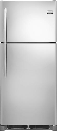 Frigidaire - Gallery 20.4 Cu. Ft. Custom-Flex Top-Freezer Refrigerator - Stainless Steel