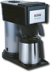 BUNN - BTX ThermoFresh 10-Cup Thermal Coffeemaker - Stainless-Steel/Black