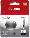 Canon - Cli-221 Black Ink Cartridge - Black 8987377