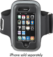 Rocketfish™ Mobile - Arm Band with Molded Case for Apple® iPhone