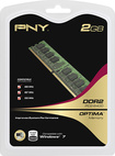 PNY - Optima 2GB PC2-6400 DDR2 DIMM Memory - Multi