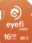 Eye-Fi - Mobi 16GB SDHC Class 10 Memory Card - Orange