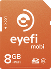 Eye-Fi - Mobi 8GB SDHC Class 10 Memory Card - Orange